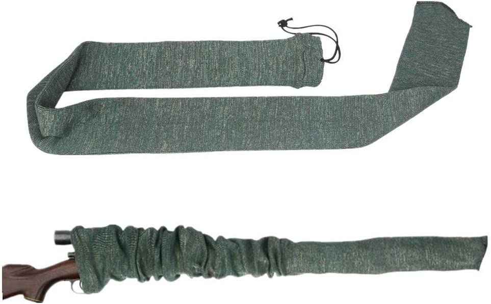 IVEN - Calcetín táctico de silicona tratado para pistolas de manga larga para rifle de caza al aire libre