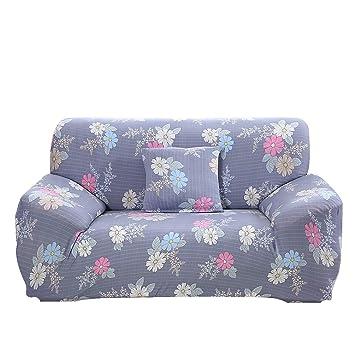 Amazon.com: WENYAO Funda de sofá elástica universal, funda ...