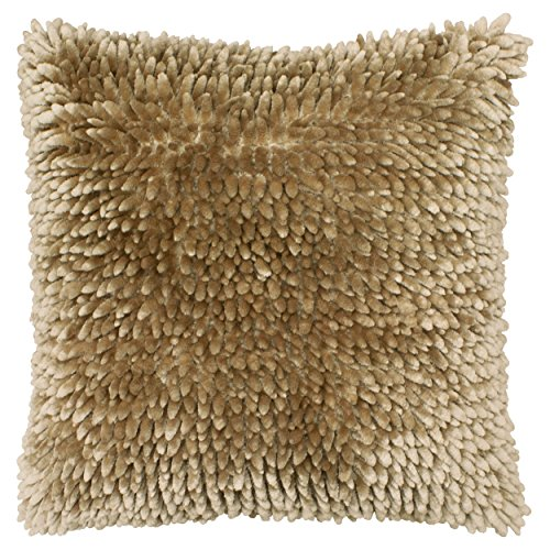 Dolce Home Butter Chenille Decorative Pillow, 18 in. x 18 in. , Linen