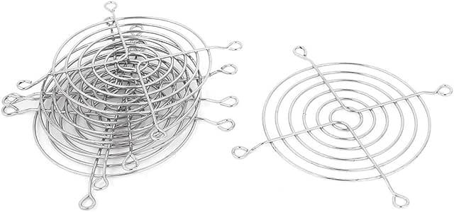 sourcing map Ventiladores Partes Parrilla Protector de Dedo para 85 x 85 mm Ventilador para Caja de Ordenador 5 Piezas: Amazon.es: Electrónica