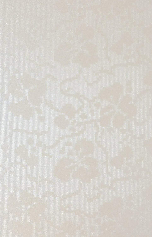 Syntego Lot de 10 Feuilles de Papier cartonn/é d/écoratives en Relief Motif Floral Ivoire Format A4 300 g//m/²