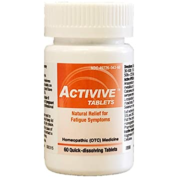 HelloLife Activive Tablets - Natural Relief for Fatigue Symptoms - for  Safe, Temporary Relief of: