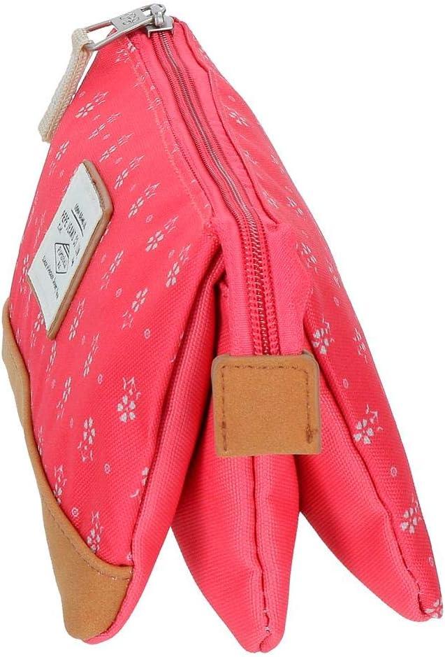 Trousse 3 compartiments Pepe Jeans Carola Corail