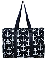 "N. Gil All Purpose Organizer 18"" Large Utility Tote Bag I"