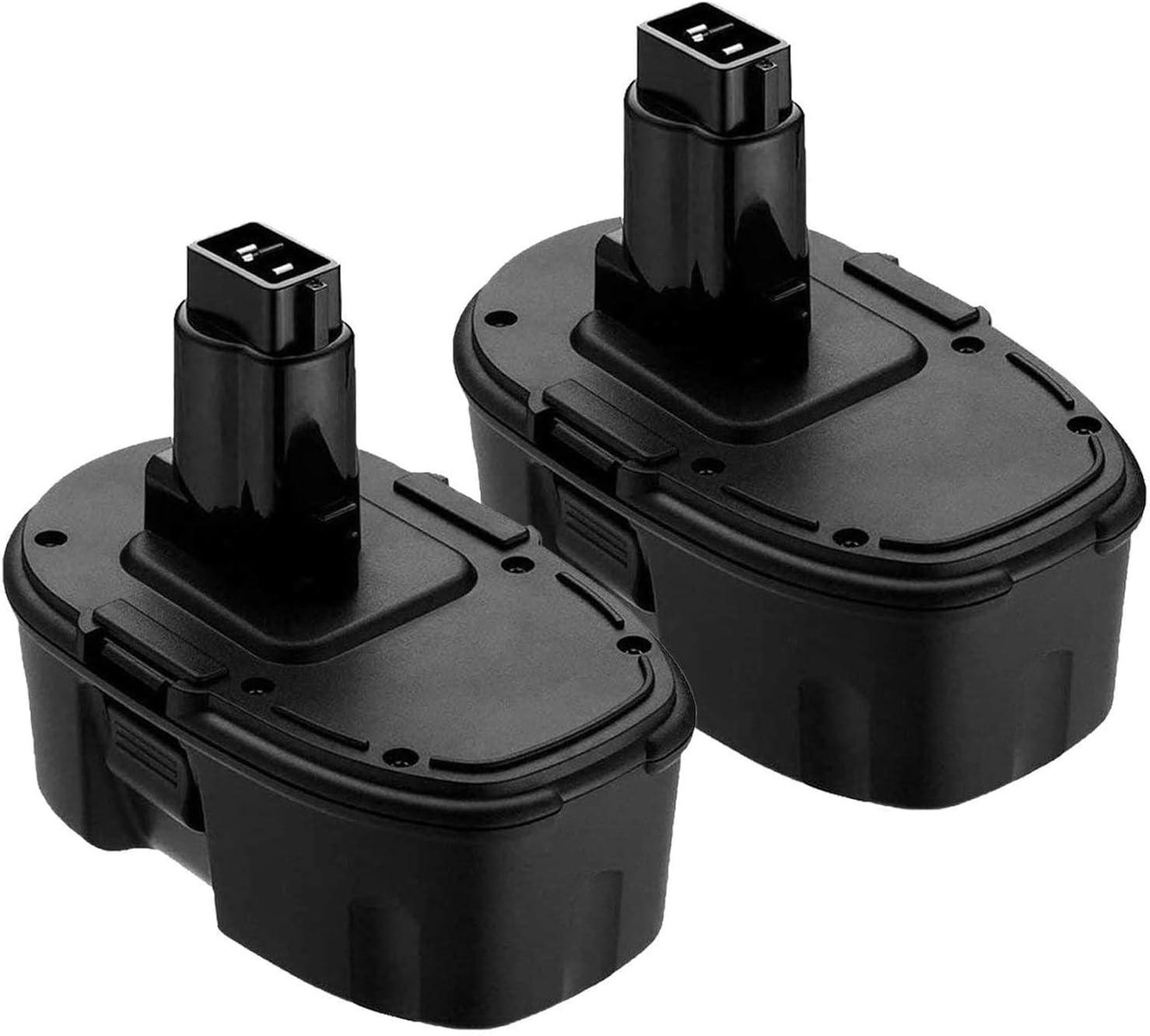 2Pack 3.6Ah 18V DC9096 for Dewalt XRP Battery, Battery for Dewalt DC9098 DC9099 DE9039 DE9096 DE9098 DW9099 DW9098 DE9503