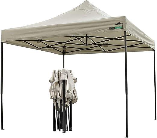 MaxxGarden - Carpa Impermeable (3 x 3 m, Incluye Bolsa, protección ...