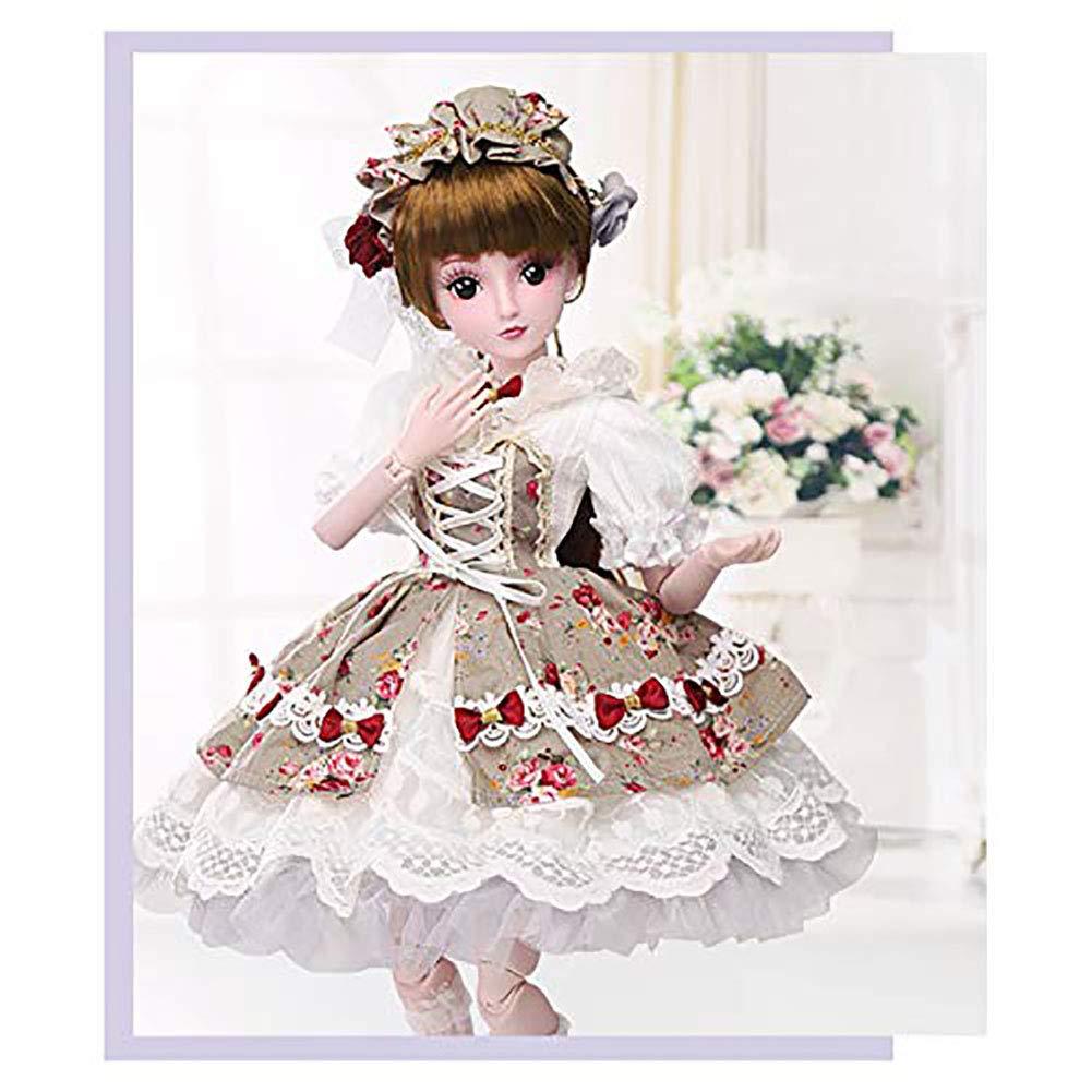 23,6 Zoll 60 cm Reborn Baby doll Kann niedlichen Prinzessin Mädchen Geburtstag verkleiden