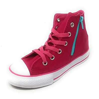 d5c65c5ccd32 Amazon.com  Converse CT Side Zip HI Berry Pink  Shoes