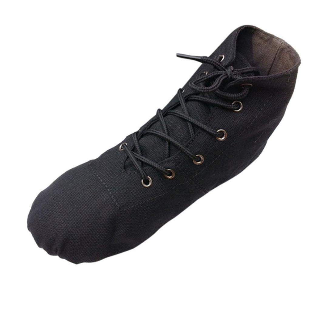 9a3f5058dfe03 DENER Women Ladies Girls Ballet Flats Shoes, High Tops Split Soles ...