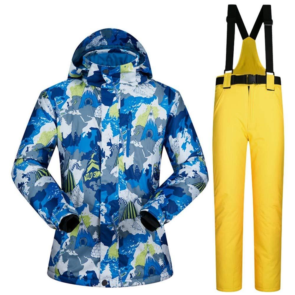 QZHE Tuta Tuta Tuta da sci Tuta da Sci da Uomo Invernale Impermeabile Antivento Imbottito Sci E Snowboard Giacca Giacca da Sci All'Aperto Neve Calda, LB07L9K7XL33XL | Ottimo mestiere  | Moderno Ed Elegante A Moda  | Louis, in dettaglio  | Acquisti  | Queensland ffca00