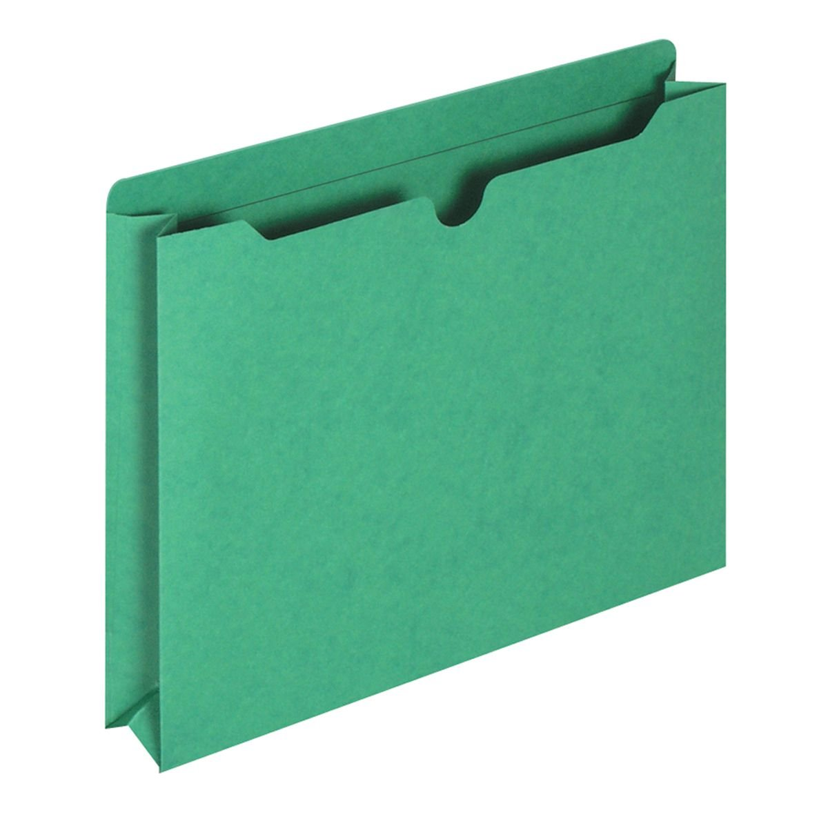 Globe-Weis/Pendaflex File Jackets, 2-Inch Expansion, Letter Size, Green, 50 Jackets per Pack (B3043DTGRE)