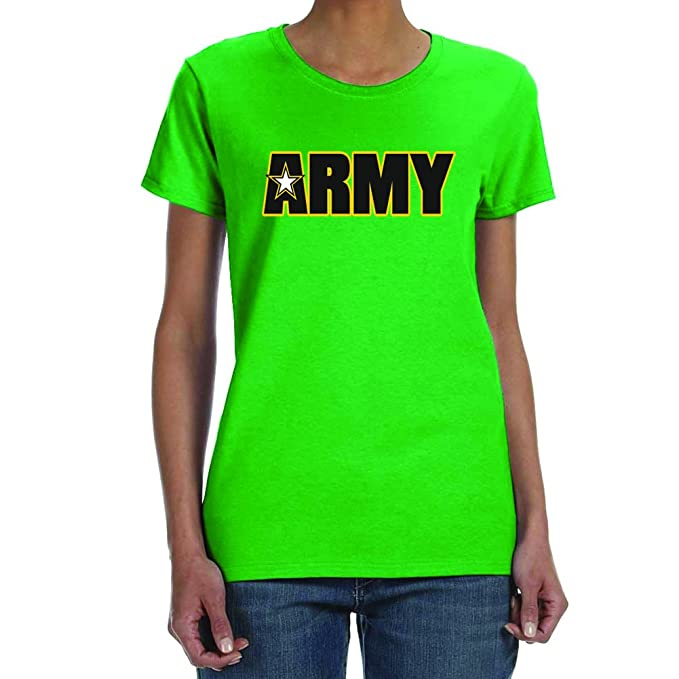 Amazon.com  Empire Tees Women s Army Irish Green T-Shirt (XXL)  Clothing 68443fbf4d