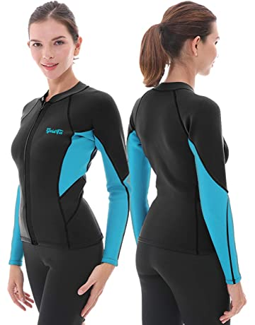 Goldfin Women s Wetsuit Top f2ffdb7ce