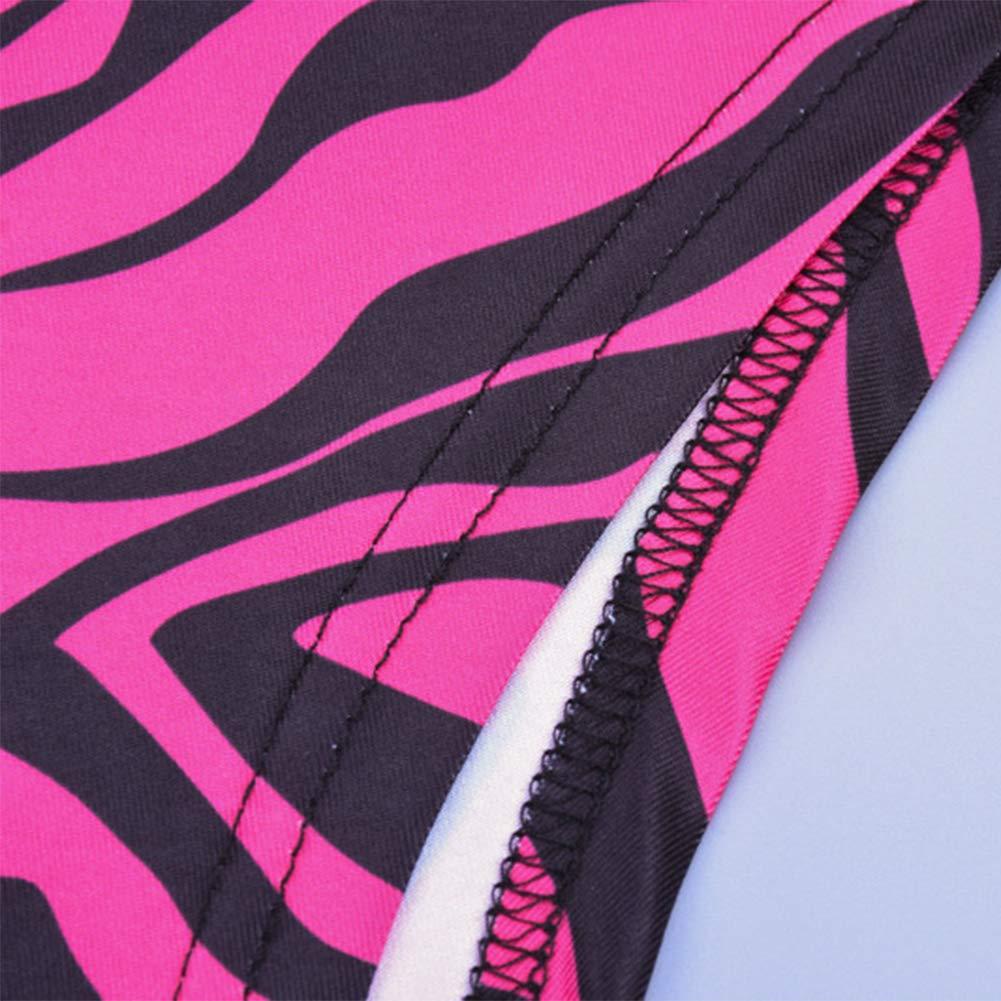 Sunisery Women Stretchy Turtleneck Long Sleeve Bodysuits Zebra Print One Piece Leotard Jumpsuit