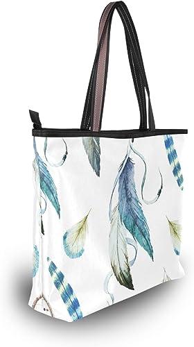 My Daily Women Tote Shoulder Bag Beautiful Dream Catcher Handbag