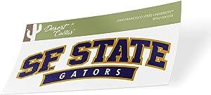 San Francisco State University SFSU Gators NCAA Vinyl Decal Laptop Water Bottle Car Scrapbook (Sticker - 00055A)