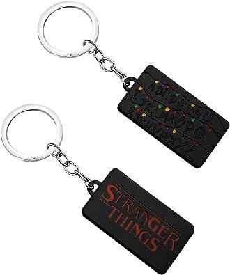 Stranger Things Demogorgon Metal Key Chain Keyring Pendant Necklace Cosplay Gift
