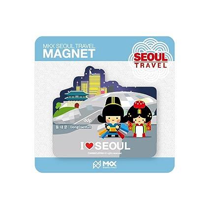 MKX Viajes Dongdaemun Design Plaza Seúl Corea nevera imán Coreano ...