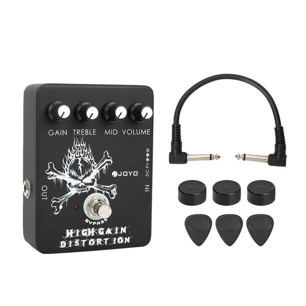 Guitar Effect Pedal, RiToEasysports Joyo JF-04 High Gain Distortion Electric Guitar Effect Device Pedal
