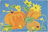 Cheap Jellybean Accent Rug Pumpkins & Sunflowers