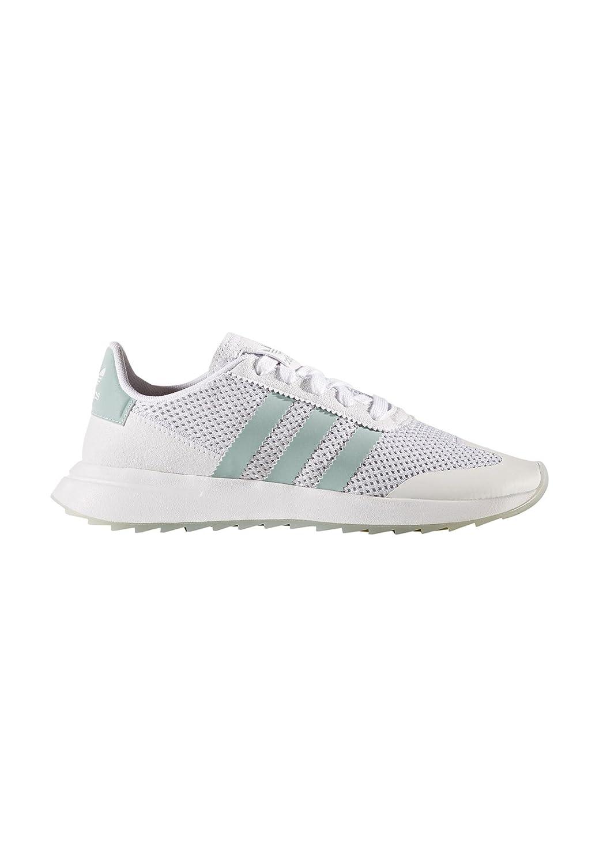 Adidas FLB W, Zapatillas de Deporte para Mujer 40 2/3 EU|Blanco (Ftwbla / Vertac / Gritra)