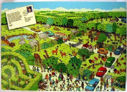 Where's Waldo? Safari Park ~ 100 Piece Interlocking Jigsaw Puzzle