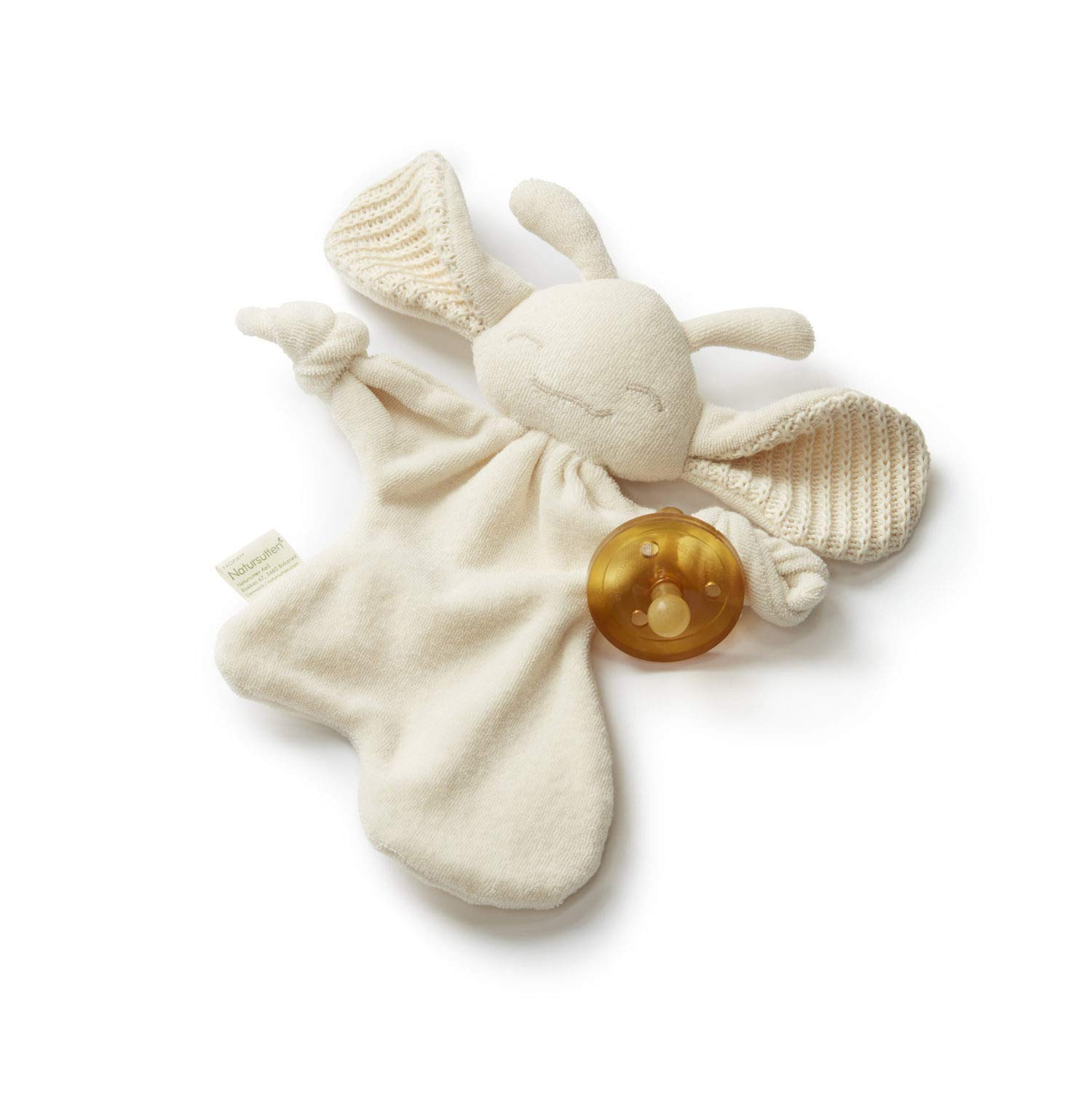 PaciPixy Organic Cotton, Soother Holder, Comforter, Lovey by Natursutten
