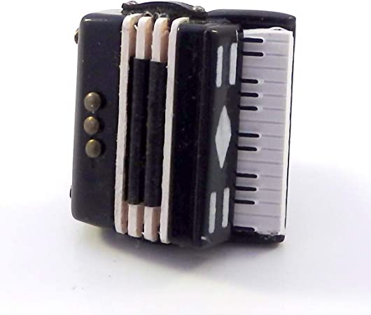 Melody Jane Dolls House Accordion 1:12 Miniature Instrument Music Room Accessory