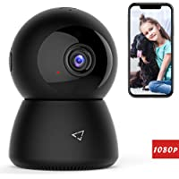 Victure 1080P FHD WiFi IP Camera Wireless 2.4 G WiFi Security Panoramic Viewing Camera with Motion Detection, 2-Way Audio, Night Vision, Home Surveillance Monitor for Baby/Pet/Elder