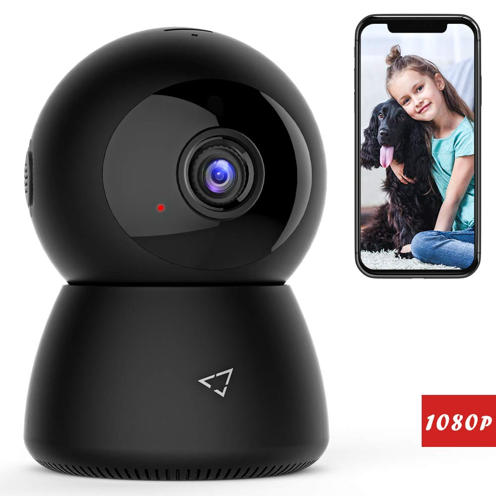 Victure 1080P FHD WiFi IP Camera Wireless 2.4 G WiFi Security Panoramic Viewing Camera with Motion Detection, 2-Way Audio, Night Vision, Home Surveillance Monitor for Baby/Pet/Elder by Victure