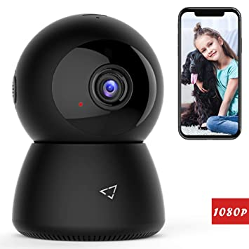 Victure 1080P FHD WiFi IP Camera Wireless Indoor Camera Night Vision Motion  Detection 2-Way Audio Home Security Surveillance Pan/Tilt/Zoom Monitor
