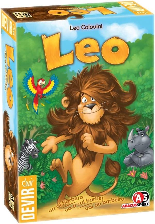 Devir - Leo va al barbero, juego de tablero (BGLEO): Amazon.es ...