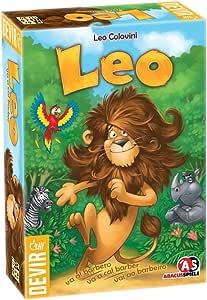Devir - Leo va al barbero, juego de tablero (BGLEO): Amazon.es: Juguetes y juegos