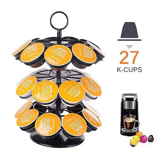 Lemonmax K Soporte para 36 Keurig Kcup/Dolce Gusto Pod, accesorios ...