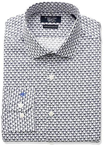 original-penguin-mens-slim-fit-stretch-glasses-print-dress-shirt-indigo-155-neck-34-35-sleeve