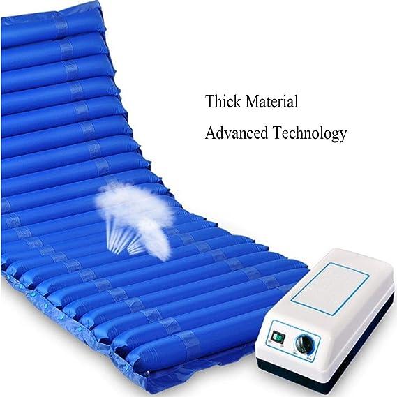 Anti-decúbito cojín microporoso jet hogar aire colchón airbag desmontable anti-Decubituses cojines adecuado anciano enfermo paciente,A,200X90CM: Amazon.es: ...