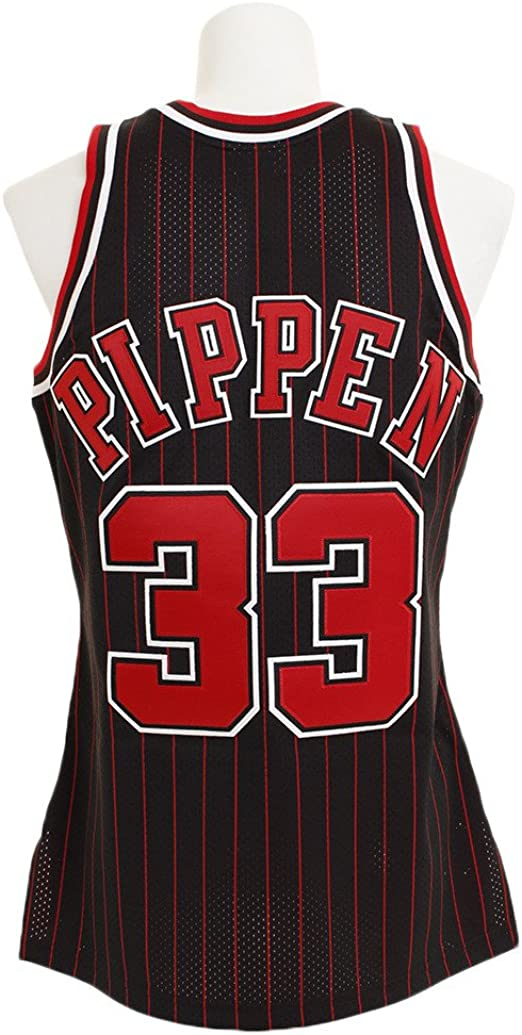Retro Scottie Pippen #33 Chicago Bulls Basketball Trikot Jersey Stitched Weiß