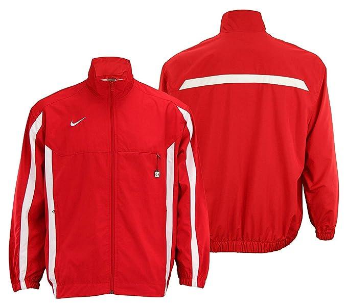 46281d1f089 Nike Mens Championship Team Windbreaker Track Jacket (XX-Large, Scarlet)