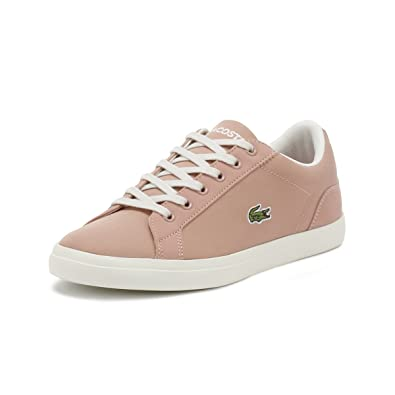 69675d029 Lacoste Kids White Pink Lerond 318 3 Trainers  Amazon.co.uk  Shoes ...