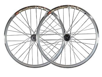 Ruedas para bicicleta de piñón fijo, 30 mm, con bujes flip flop marca Joytech