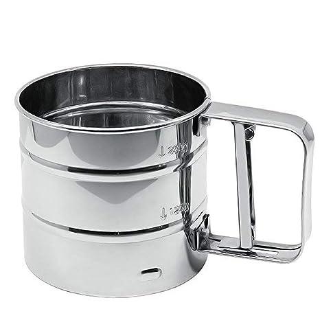Amazon.com: Taza de acero inoxidable para hornear mecánica ...