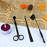 KitchenGynti Candles Snuffer Candle Accessory for Candle Wick Trimmer & Wick Dipper(Black)