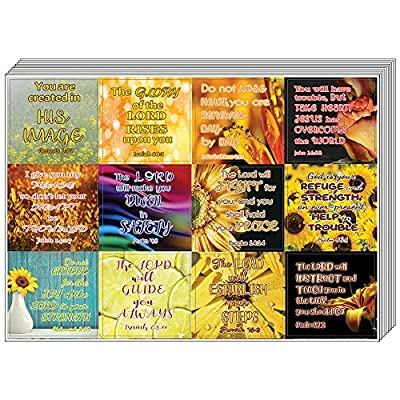 Christian Stickers for Women Series 3 (5-Sheet) - Great Variety Colorful Stickers : Office Products