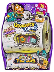 The Grossery Gang are back and ready for the Grossest battle of all time! After accidently opening up a time portal through a stinky toilet, the Grossery Gang are battling for their slimy survival. Gather Grosseries from different time period...