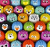 144PC 5'' KNOBBY ANIMAL BALL ASSORTMENT, Case of 2