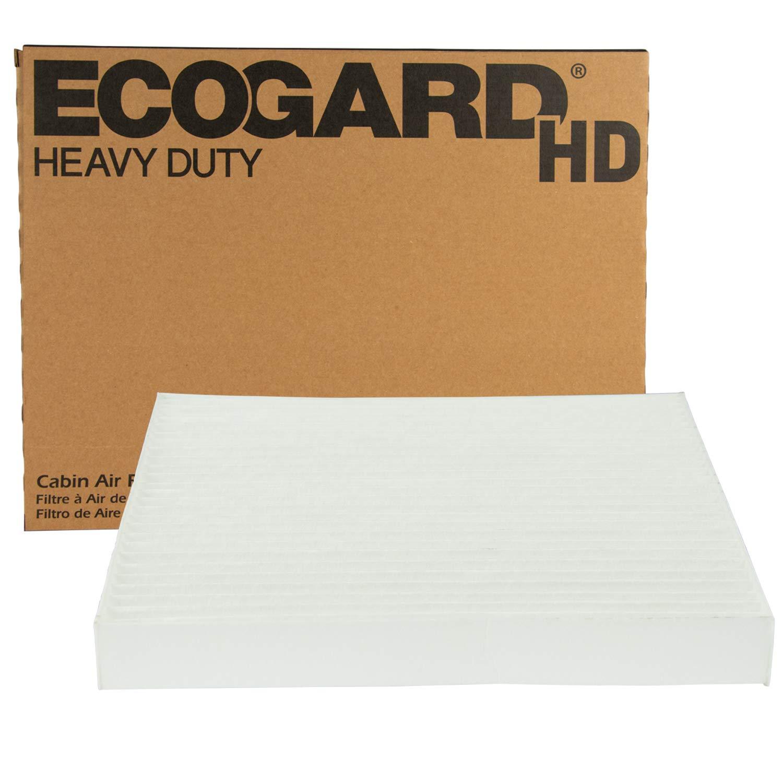 EcoGard XC10617HD Premium Heavy Duty Truck Cabin Air Filter (8-5/8'' x 7-5/8'' x 1'') Fits 2007-2012 Freightliner Classic, Classic XL, FLC, FLD, Argosy, Century Class, Classic, Condor