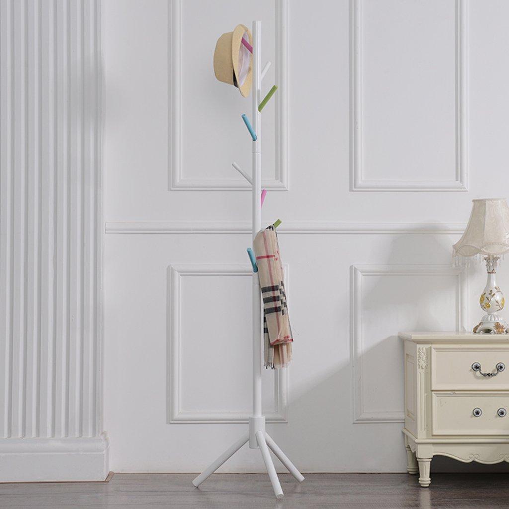色の分類:木材の色、茶色サイズ:40 * 175センチメートル材質:ウッドウッド:ラバーウッドアプリケーション:ホーム、寮コートラックタイプ:床のタイプのファッションスタイル:シンプルでモダンな (色 : # 6) B07DNDKJLK # 6