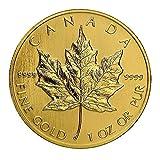 1979 CA - Present 1oz Gold Maple Leaf $50 Brilliant Uncirculated Random Year