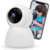 Câmera de Segurança WiFi XFTOPSE Câmera Sem Fio 360º de Monitoramento Interna IP Camera 1080P com Áudio Bidirecional…