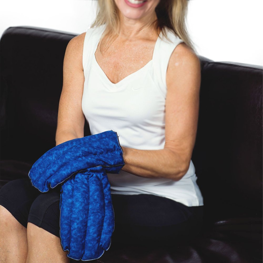 Kozy Collar Microwavable Heating Mittens for Hand and Fingers to Relieve Arthritis, Pains and Soreness - Natural, Safe and Reusable by Kozy Collar